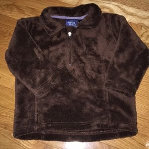 Rugged bear thick fleece pullover size 2